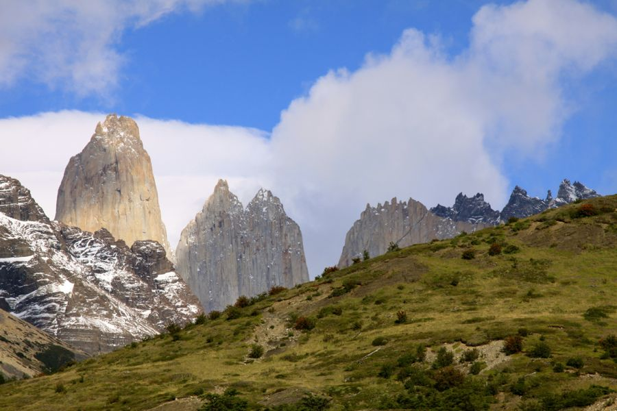 Torres del Paine N.P. in Chili