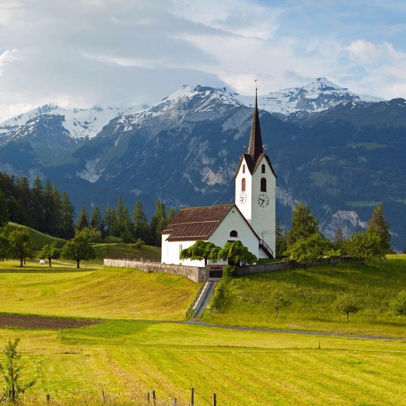 Weekend naar vrienden in Zwitserland