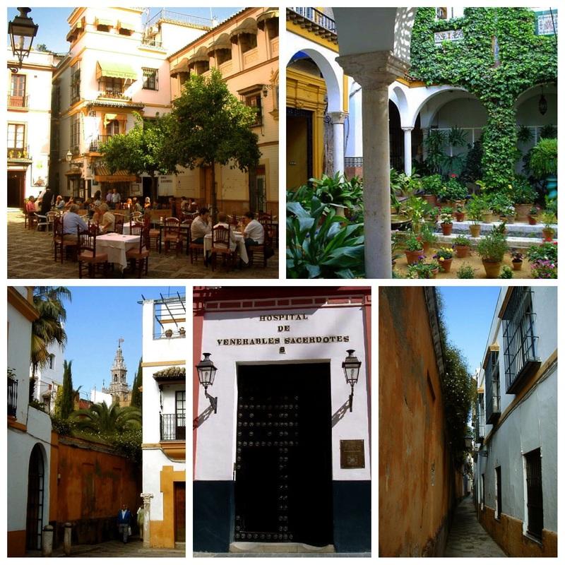 Barrio de Santa Cruz in Sevilla