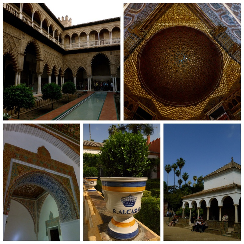 Real Alcázar in Sevilla