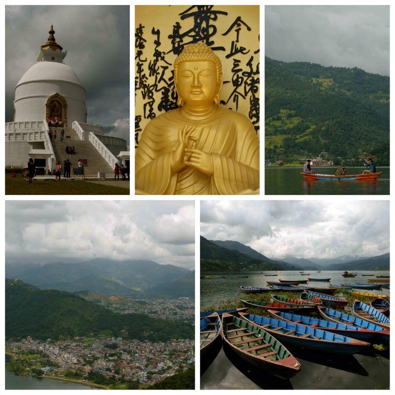 Bezoek aan Pokhara in Nepal