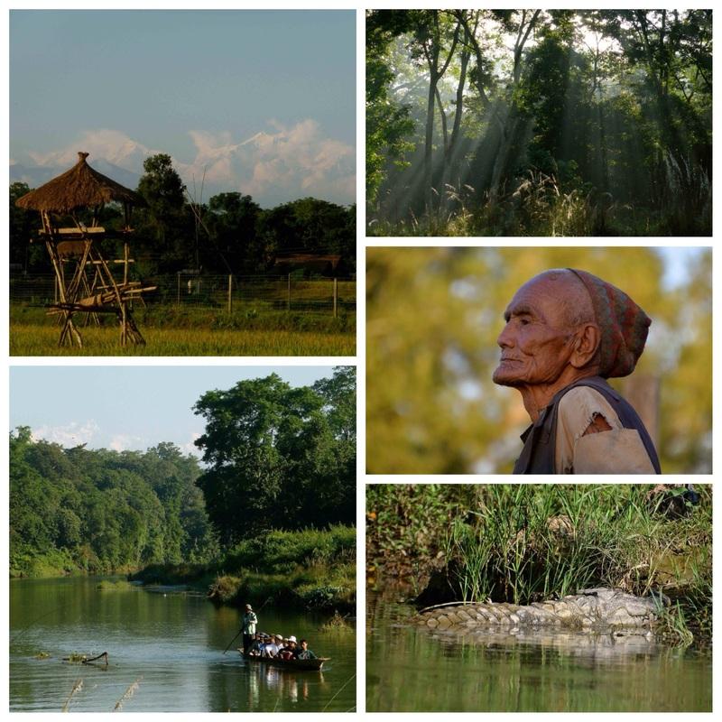 Een bezoek aan Chitwan N.P. in Nepal
