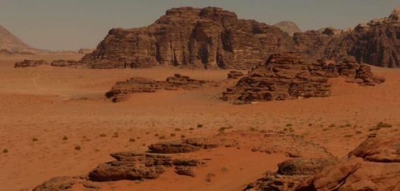 Wadi Rum woestijn, Jordanië