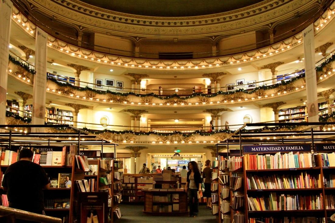 boekenwinkel in Buenos Aires