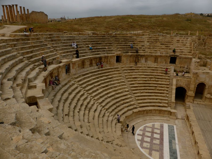 Theater in Jarash, Jordanië