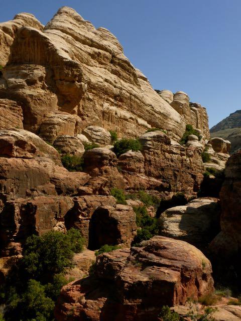 Dana Nationaal Park in Jordanië