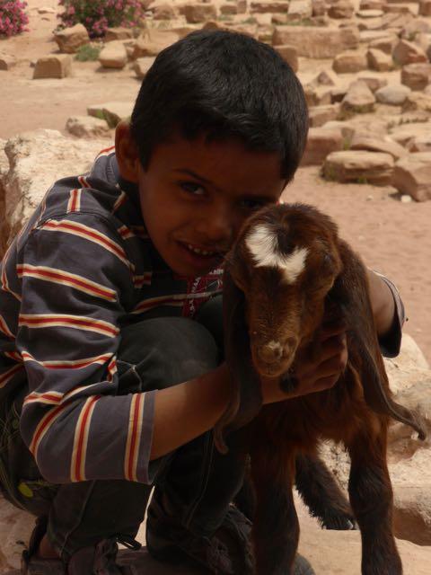 Wereldwonder Petra in Jordanië