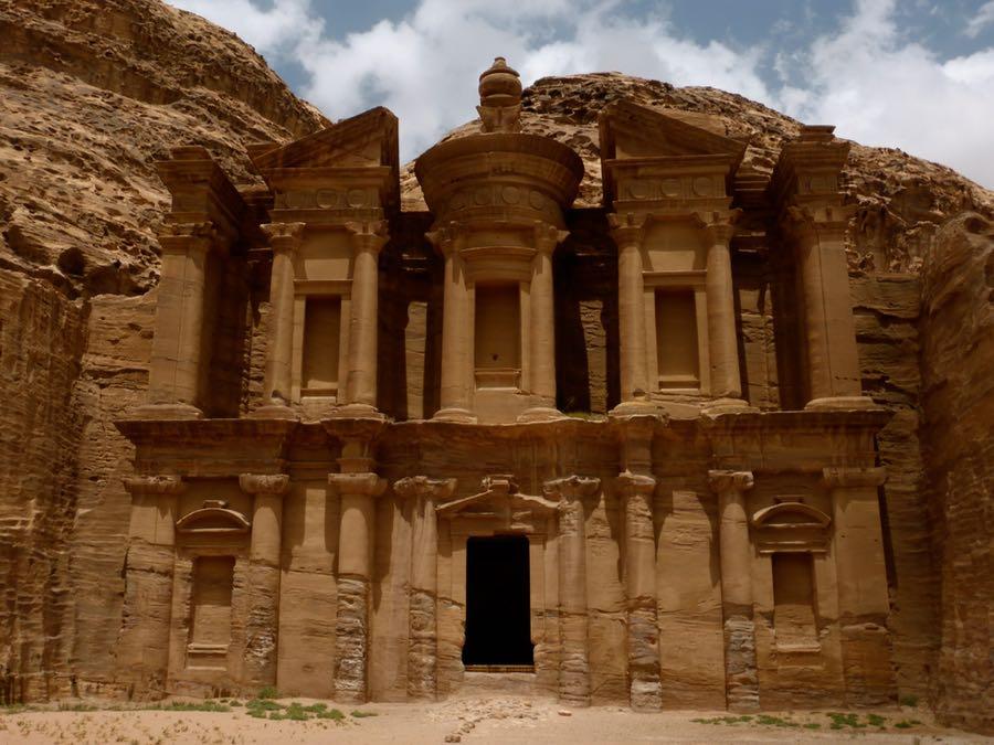 Wereldwonder Petra, klooster, Jordanië