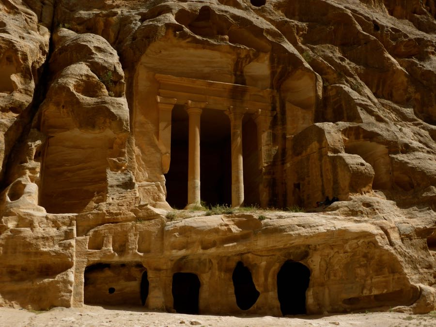 Klein Petra in Jordanië