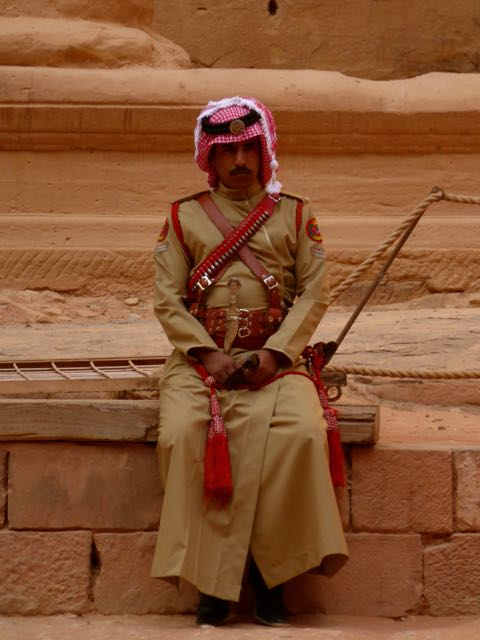 Wereldwonder Petra, schatkamer, Jordanië
