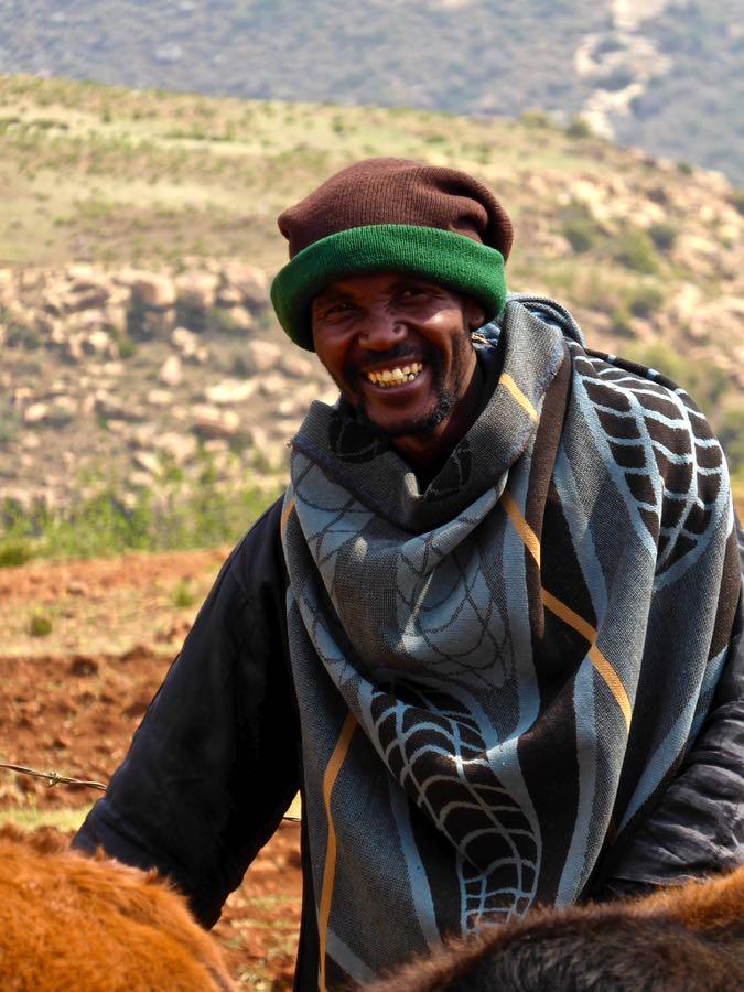 Herder in Lesotho