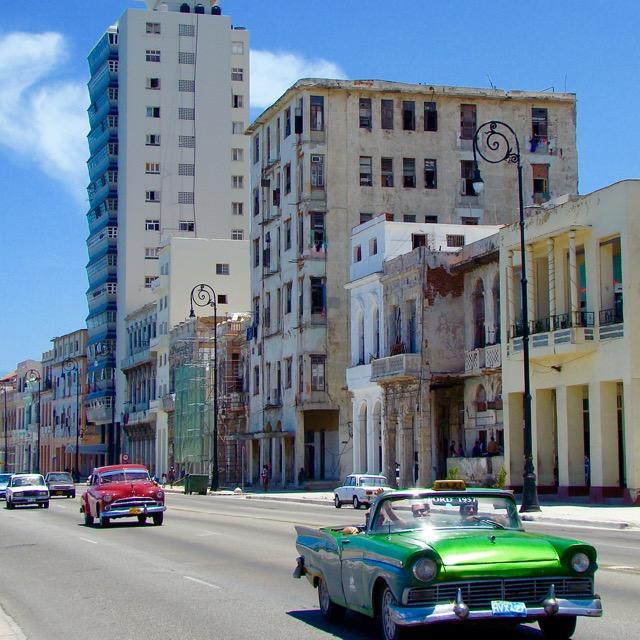 Oldtimer in Havana, Cuba