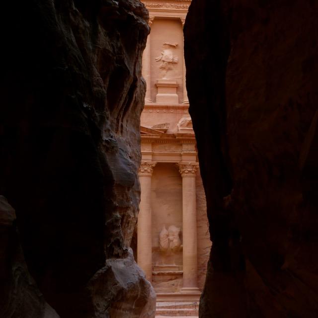 Schatkamer van Petra, wereldwonder